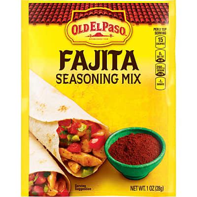 Fajita Seasoning Mix Mexican Seasoning Old El Paso
