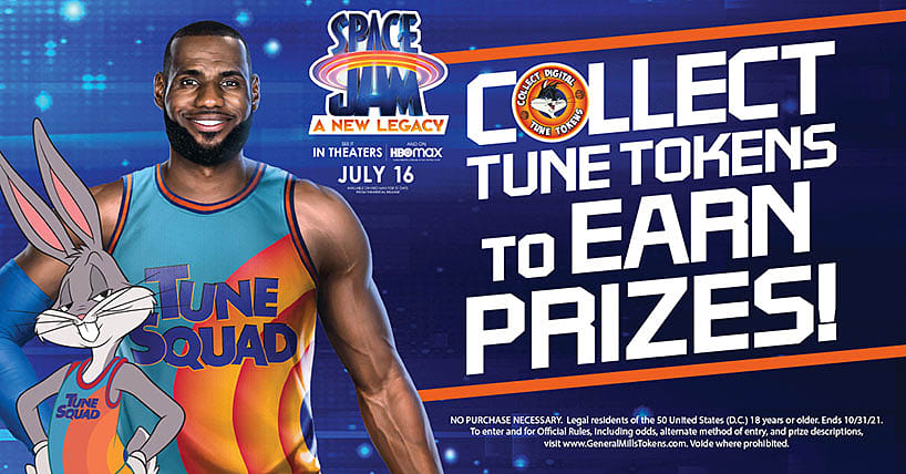 Collect Tune Tokens to Earn Prizes!