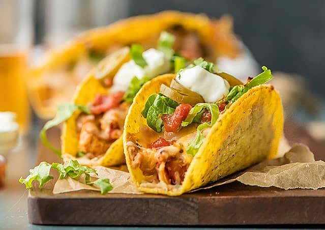 Easy Spicy Chicken Tacos Mexican Recipes Old El Paso