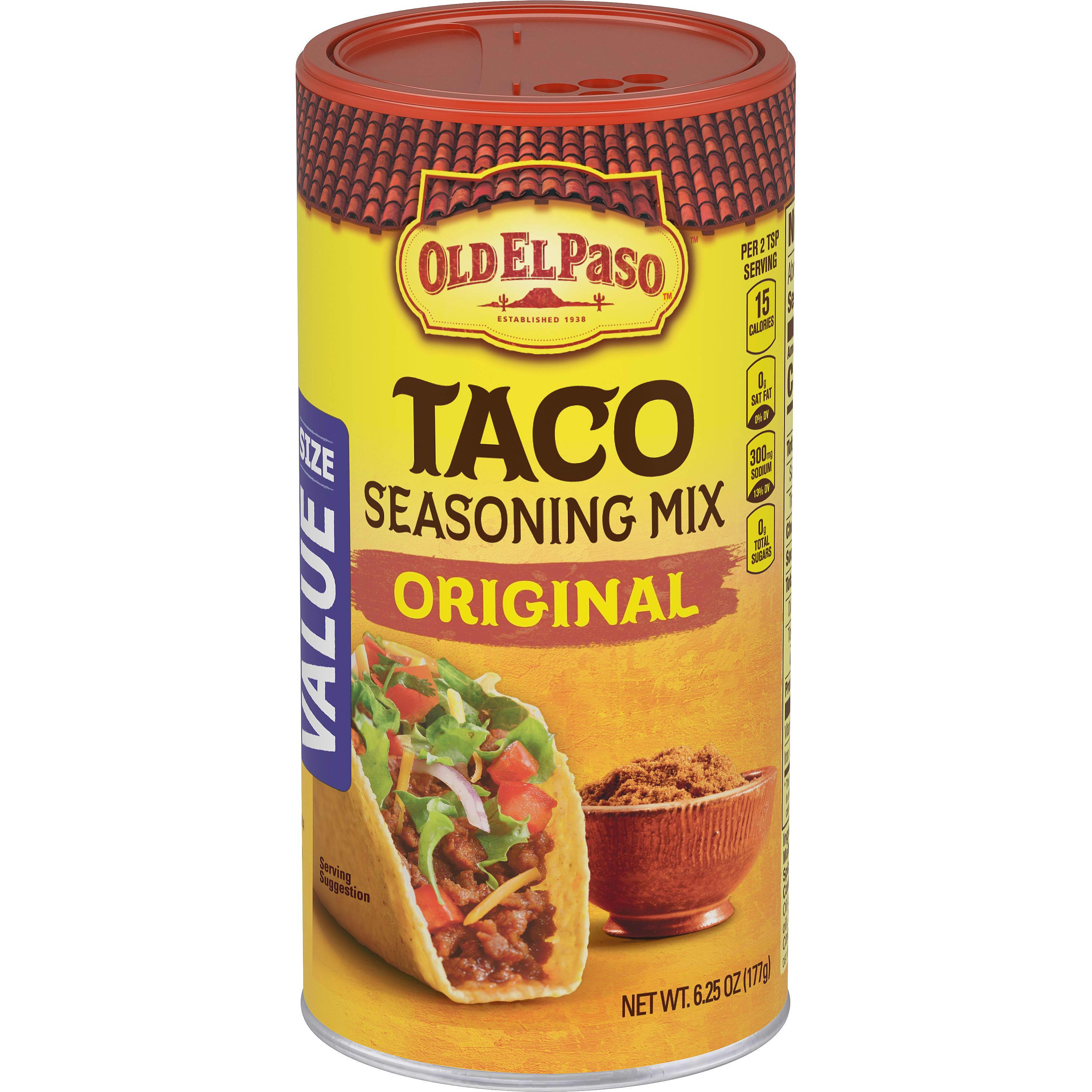 Taco Original Seasoning Mix Mexican Seasoning Old El Paso