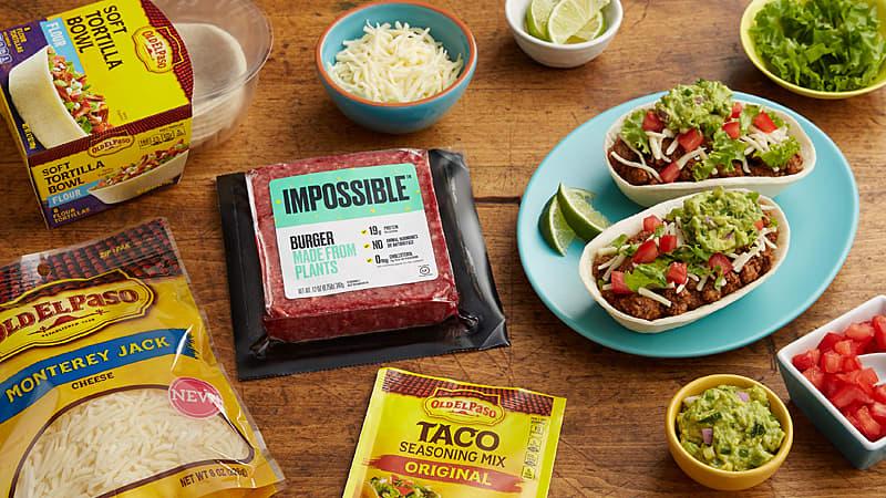 Taco Bowls Fresh Guacamole Mexican Recipes Old El Paso